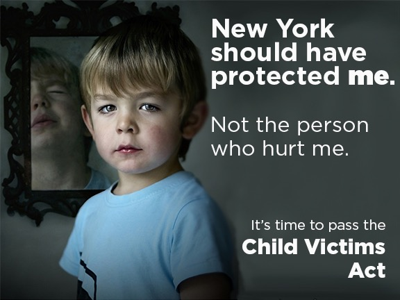 New York Child Victims Act Poster